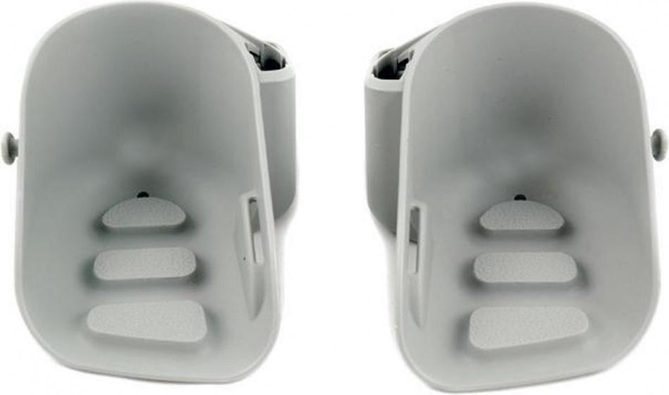 Yepp voetsteunen Mini junior 10 x 13 cm grijs 2 stuks