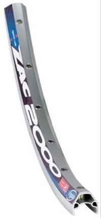 Rigida Velg ZAC 2000D 28 x 5/8 inch aluminium 32G zilver