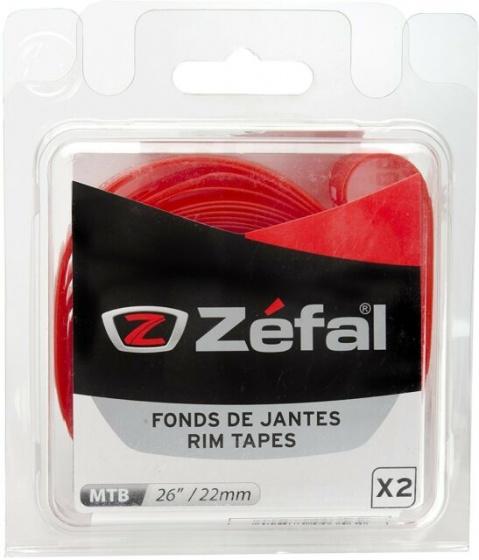 Zefal velglint 22 mm 26 inch rood 2 stuks