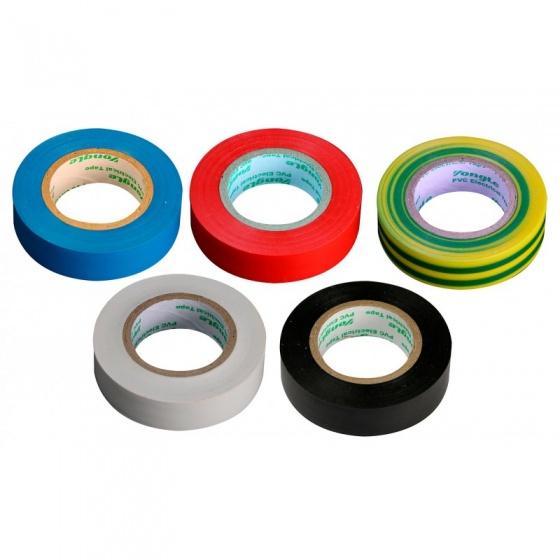 Zenitech 5 rollen isolatietape 15 mm x 10 m