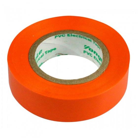 Zenitech isolatietape 15 mm x 10 m oranje