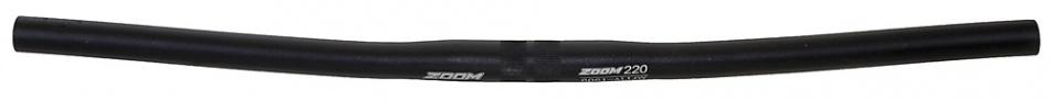 Zoom Stuur MTB 6061 Alloy 22,2 / 600 / 25,4 mm Mat Zwart