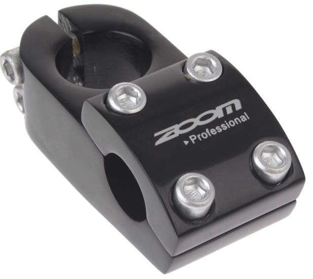 Zoom Stuurpen Voorbouw Vast BMX 28,6 / 50 / 22,2 mm Zwart