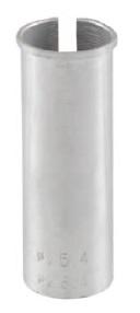 Zoom Vulbus 25,4 x 0,7 x 80 mm aluminium zilver