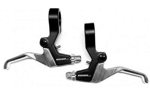 Zzyzx remgrepenset USA 12 16 inch 2 vinger zwart/zilver