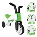 Chillafish Bunzi 2-in-1 loopfiets Jongens Lime