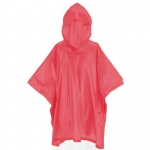 Free and Easy rainponcho junior taille unique rouge