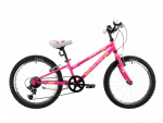 Marlin Celine 20 Inch 24 cm Girls 6SP Rim Brakes Fuchsia/Purple