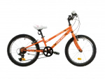 Marlin Celine 20 Inch 24 cm Girls 6SP Rim Brakes Orange/White