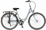 Popal City 28 Inch Dames 6V V-Brake Lichtblauw